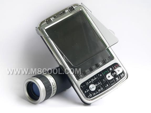 Мобильный телефон со сменным объективом
