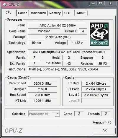 Новый Athlon 64 X2 6400+? Результаты тестов
