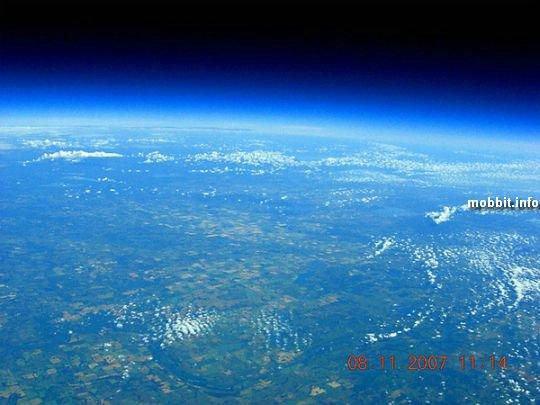 Проект SABLE-3: гелиевый шар на высоте 35 км