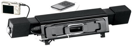 Logitech: звуковая система AudioHub Notebook Speaker