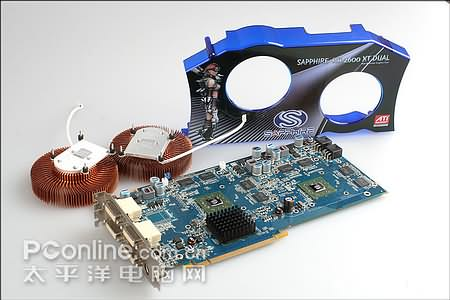 Sapphire Gemini HD 2600 X2 DUAL - карта-монстр