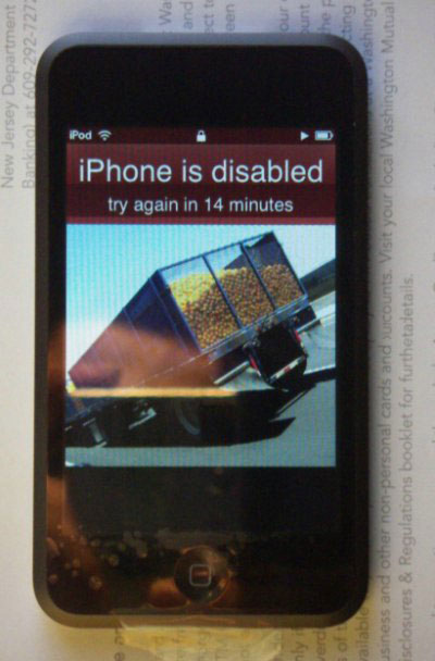 iPod Touch vs. iPhone. Первые проблемы и недочеты