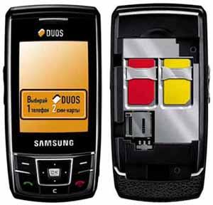 Samsung D880 DuoS ���� ��������� ����� SIM-�������