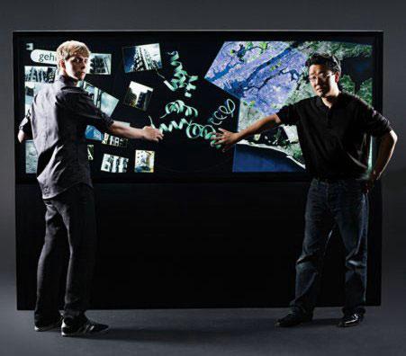 Interactive Media Wall – сенсорный мегадисплей