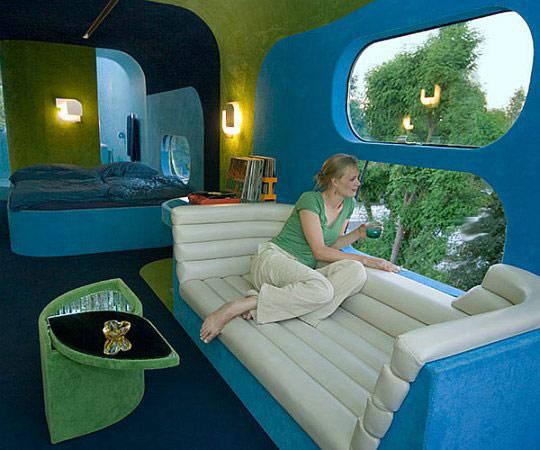 Гостиница Everland – мобильная комната