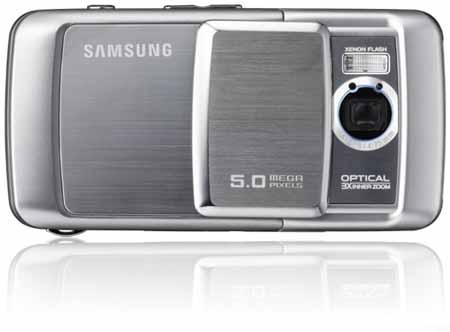 Официальный анонс 5-Мп камерафона Samsung G800