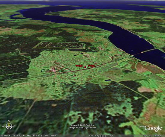 Google Earth Free 4.2.0198.2451 - ����� � ����� �� �������