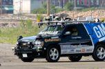 В США прошли гонки среди робо-автомобилей