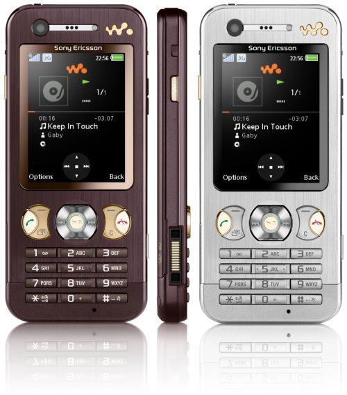Два новых Walkman-телефона W890 и W380