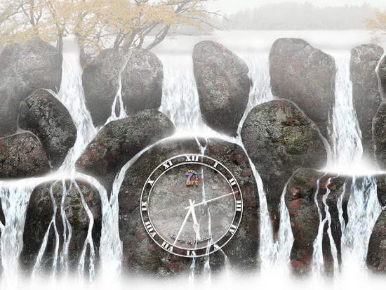 Water Clock Screensaver 2.3 - �������� �����������
