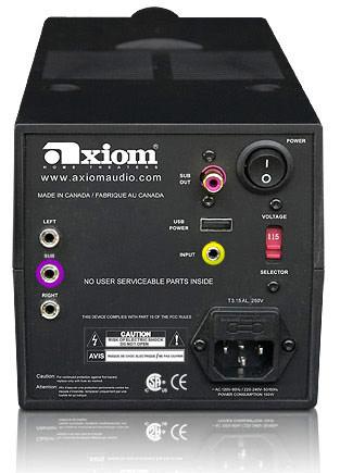 Axiom Audio Audiobyte: акустика категории «люкс»