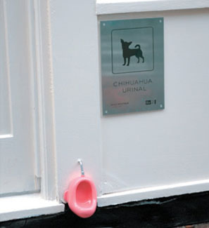 Писсуар для мини собак