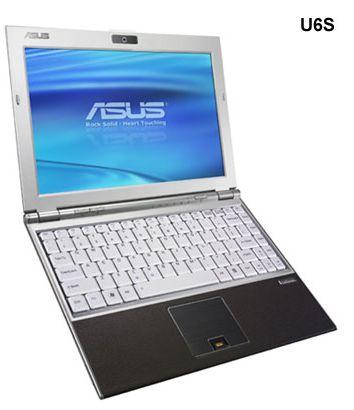 ASUS U6S и U6E: компактные и стильные