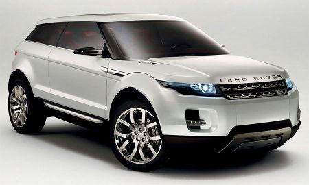 ��������� ����������� ���� �������� Land Rover LXR