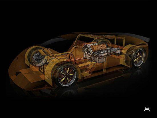 Деревянный суперкар конструируют студенты