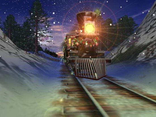 Christmas Express 3D Screensaver 1.0