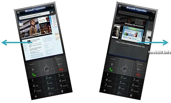 Windows Mobile 7: multi-touch + ������������� ������