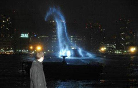 В Токийском заливе завелось Лох-Несское чудовище