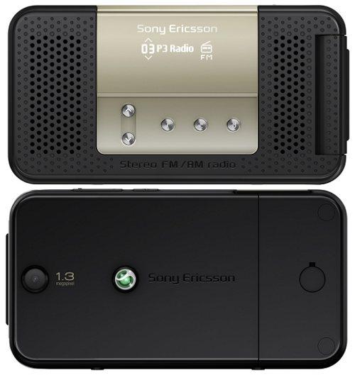 Телефоны-радиоприёмники от Sony Ericsson