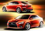 Mitsubishi показала 5-дверный Lancer