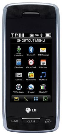 LG VOYAGER: альтернатива смартфону и коммуникатору