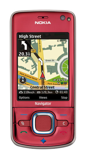 Nokia 6210 Navigator: телефон с компасом
