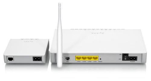 ZyXEL и InTellon представили технологию HomePlug AV
