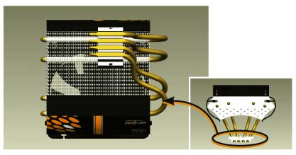 Nexus HOC-9000: ������������� CPU �����