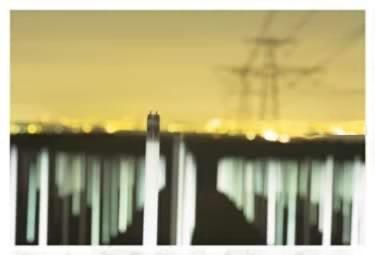 Флуоресцентное поле в Англии