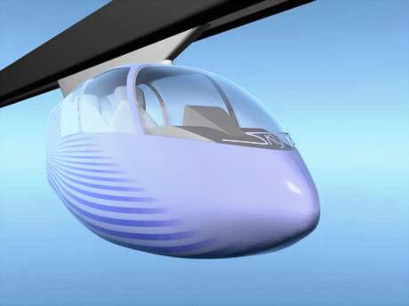 SkyTran - концептуальный транспорт на магнитной подвеске