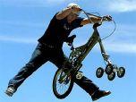 Пятиколесный велосипед изобретен в Австралии