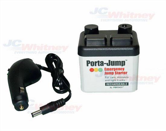 Porta-Jump оживит автомобиль, когда аккумулятор сдох
