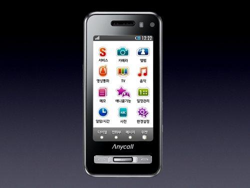 Anycall Haptic - клон iPhone от Samsung