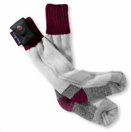 Технологичные носки с подогревом