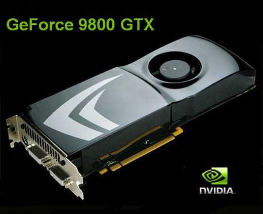 Официальный анонс NVIDIA GeForce 9800 GTX