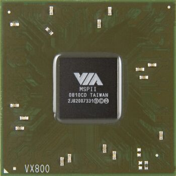 VIA представила чипсет VX800 для ультрапортативных ПК