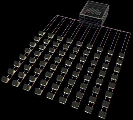 Новый суперкомпьютер IBM охлаждаемый водой