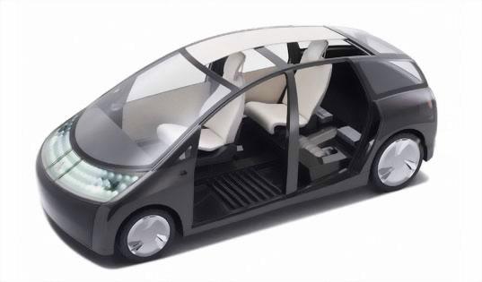 Toyota показала экологичный концепт Toyota 1/x