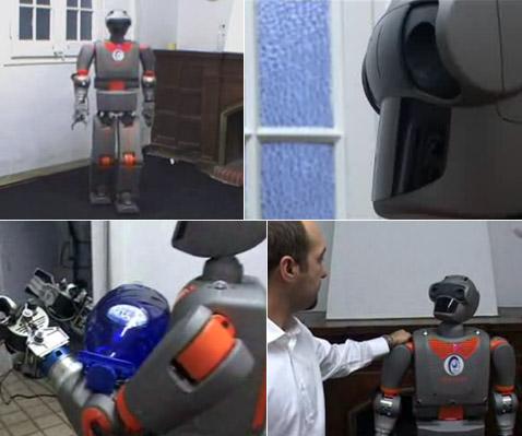 REEM-B - испанский робот-помощник