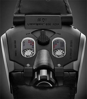 Еще одни уникальные часы UR-202 Hammerhead
