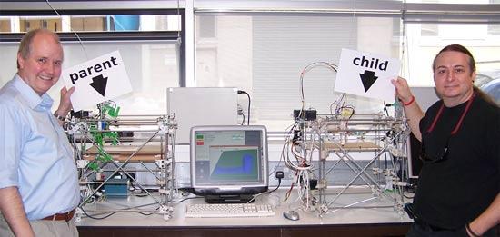 RepRap: 3D-принтер клонировал