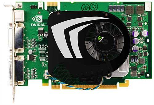 ���������� ����������� � NVIDIA GeForce 9500 GT