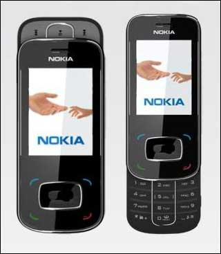 Двухсторонний музыкальный слайдер Nokia 8208