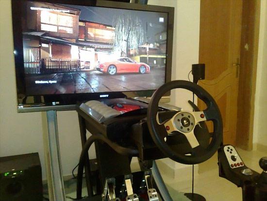 GT5P Pod – гоночный симулятор