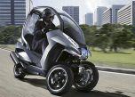 Peugeot представила концептуальный скутер