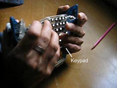 Grippity, Клавиатура