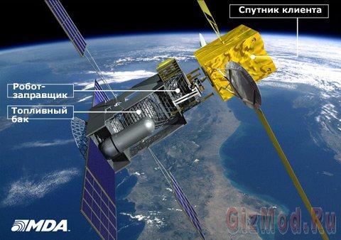 Канадцы отправят в космос заправку для спутников