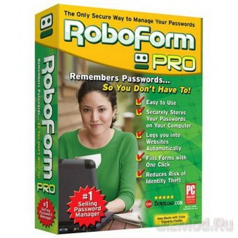 AI RoboForm 7.2.6 - заполнение форм