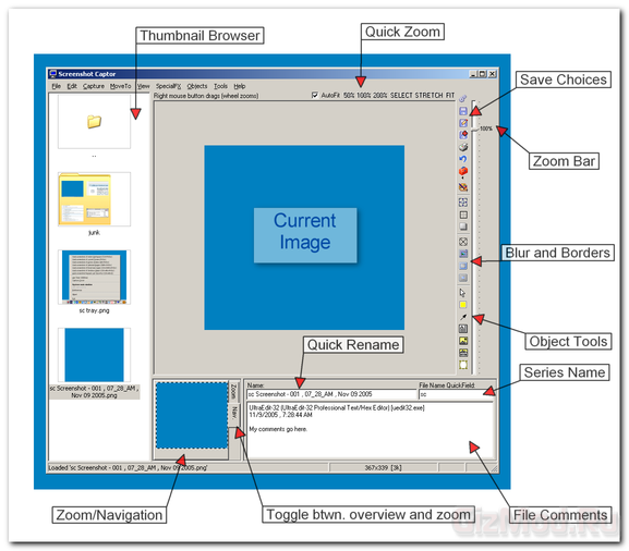 Screenshot Captor 2.93.01 - �������� ����������