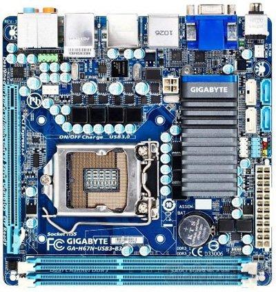GIGABYTE Mini ITX �� ������� Intel H67